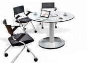 Table de réunion ronde - Idéale dans votre espace de bureau