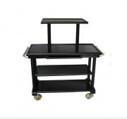 Table de service 3 plateaux bois - Dimensions : L 1200 x l 525 x H 850 mm