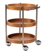 Table de service ronde - Dimensions (Ø x H) : Ø 600 x 880 mm