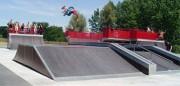 Table de street pour skatepark - Permet de rouler sur la surface où d'éffectuer des jumps dessus