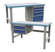 Table de travail à tiroirs - Charge max (Kg) : 500