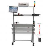 Table de travail industrielle standard - Capacité de charge : 300 kg