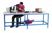Table de travail modulable Longueur 3500 mm - Dimensions (L x l x H) mm : 2000 x 800 x 850 - 3500 x 1200 x 1000