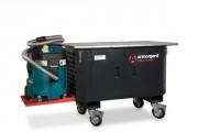 Établi mobile avec Système d'extraction - Dimensions extérieures : 1250 x 750 x 895 mm