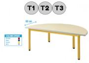 Table demi-cercle - Table design