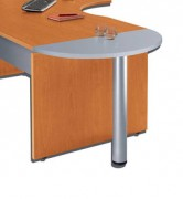 Table demi-lune 80 x 40 cm - Dimensions (L x P): 80 x 40 cm