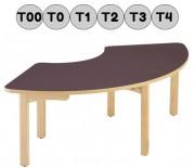 Table design pour crèche - Livrée montée