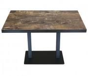 Table double d'intérieur - 120×70