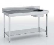Table du chef avec bac à droite - Dimensions  : Jusqu'à  1800 x 700 x 850 mm
