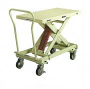 Table élévatrice 4 roulettes - Capacité de charge :  400 kg