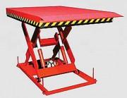 Table élévatrice à ciseaux hydraulique - Capacité utile : 20 à 60 kN