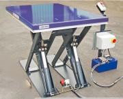 Table élévatrice avec châssis et ciseaux - Charge : de 1000 Kg à 1300 Kg