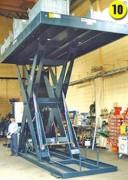 Table elevatrice de grande dimension - Modèle spécial