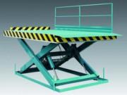 Table élévatrice de quai à simple ciseau - Capacité de charge : 1 à 10 tonnes