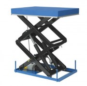 Table élévatrice double ciseaux 4000 Kg - Capacité de levage de 200 à 4000 Kg