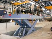 Table élévatrice électro-hydraulique - Permet la mise à niveau d'essieux