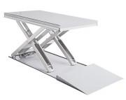 Table élévatrice extra plate en inox - Capacité : de 600 à 2000 Kg