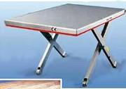 Table élévatrice extra plate inclinable - Pour palettisation et dépalettisation - À plateau plein