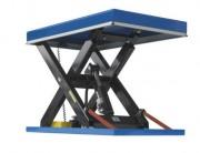 Table élévatrice hydraulique 10 tonnes - Système : Hydraulique