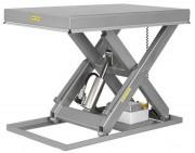 Table élévatrice hydraulique 500 à 2000 Kg - Capacité (Kg) : de 500 à 2000