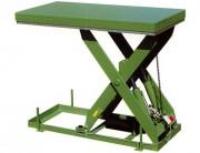 Table élévatrice hydraulique à commande électrique - 4 Charges (Kg) : 500 - 1000 - 1500 - 2000