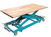 Table élévatrice hydraulique à commande manuelle - Dimensions plateau en mm : 1600 x 900