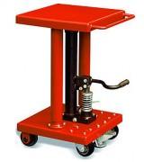 Table élévatrice hydraulique à pédale - Capacité de charge : De 90 à 900 kg
