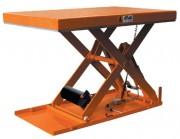 Table élévatrice hydraulique à plateau tôlé - Charges (Kg)  : 500 - 1000 - 1500