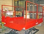 Table élévatrice hydraulique pour quai - Course : de 1 m à 1,90 m
