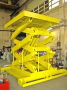 Table élévatrice hydraulique triple ciseaux - Course : de 600 mm à 3700 mm