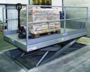 Table élévatrice industrielle plate - Construction renforcée - Sécuritaire