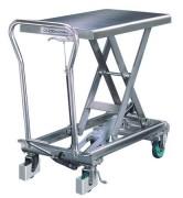 Table élévatrice manuelle 100 Kg - Capacité (Kg) : de 100 à 400
