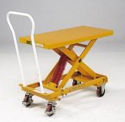 Table élévatrice manuelle 210 Kg - Capacité (kg) : de 210 ou 400