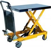 Table élévatrice mobile hydraulique 300 Kg - Capacité de charge entre 150 et 500 kg