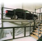Table élévatrice monte véhicule - Capacité d'élévation jusqu'à 2500 kg