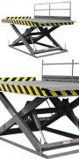 Table élevatrice monte voiture - Capacité : 2000 kg - 4000 kg