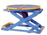Table élévatrice pneumatique à niveau constant - Capacité : 2000 kg