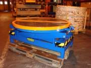 Table élévatrice pneumatique en acier