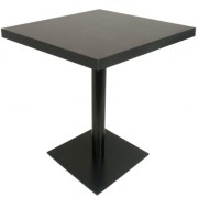 Table en bois avec Piètement central rond - T-ZN21-35