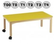 Table en bois de hêtre - Rectangulaire