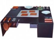 Table en cuir