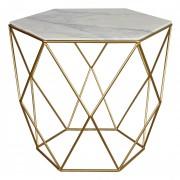 Table en marbre - Table en marbre de style vintage
