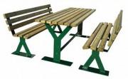 Table et bancs 2000 mm - Longueur : 2000 mm