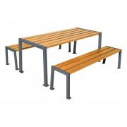 Table et banquette de pique-nique - Table haute - Lg 1800 x l 790 x H 750