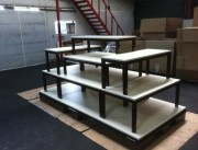 Table empilable d'agencement magasin - Tables de magasin