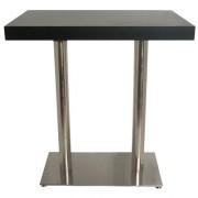Table haute bois et inox - TYC-2419-110