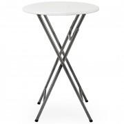 Table haute pliable - Hauteur : 110 cm