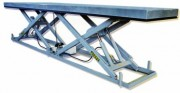Table hydraulique horizontale - Double ciseaux