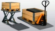 Table hydraulique plate - Rampe d'accès équipement spécial