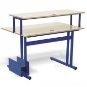 Table informatique 120 x 80 cm - Dimensions (L x l) cm : 120 x 80